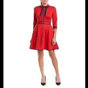 Dresses & Skirts - Kaimilan Red & Black A-line dress